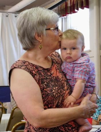 Claudia-Grandson1